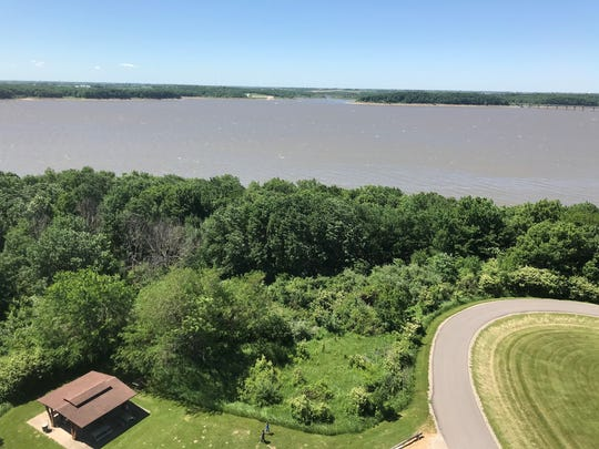 A view from atop the Cordova Park's observation tower