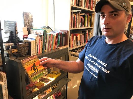 Station 1 Books Vinyl & Vintage Shop is a new shop
