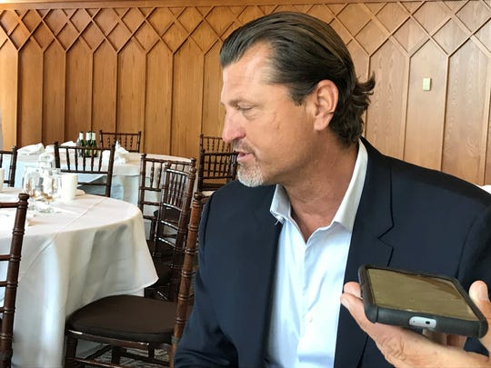 Trevor Hoffman will return to Edgewood Tahoe for the American Century Celebrity celebrity golf tournament this summer, July 13-15.