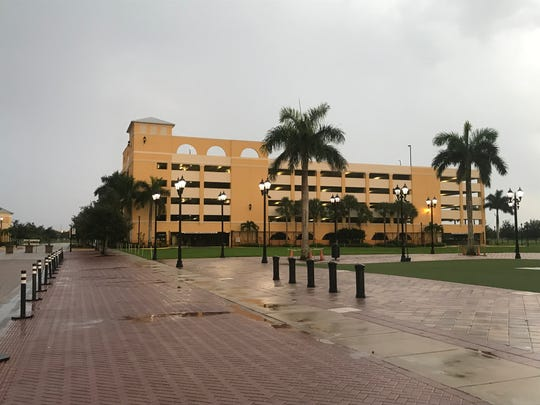 Port St Lucie Civic Center Parking Garage