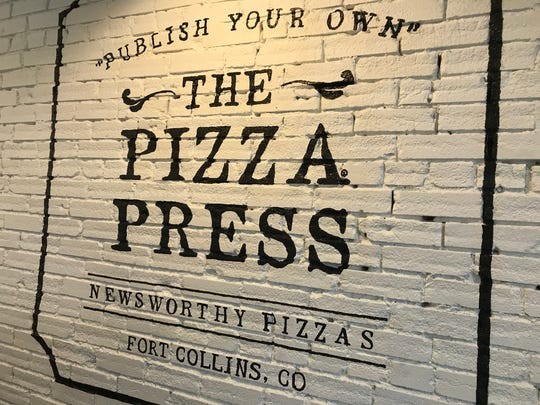 The Pizza Press in Old Town Fort Collins challenges customers to publish their own pies.