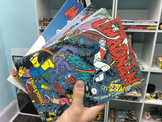 Michael Allred's Madman comic-book series in Italian
