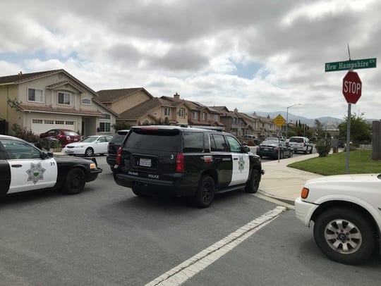 Salinas police responded to a report of a shooting