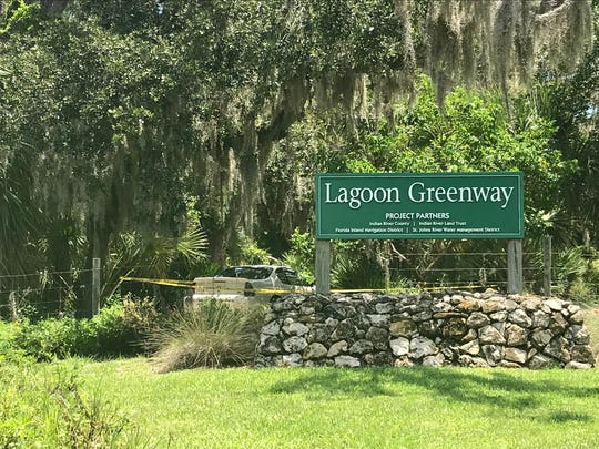 A man was shot about 11:30 a.m. Thursday in the parking lot of the Lagoon Greenway trail, 800 Indian River Boulevard.