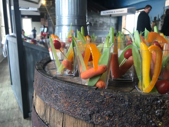 Fresh veggies were a part of the new Festival Foods