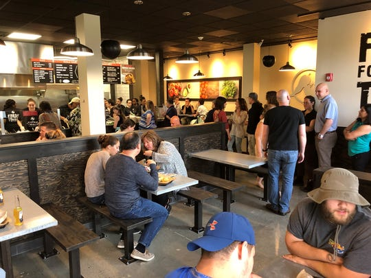 Salsa Fresca held a soft opening for friends and family on Thursday.
