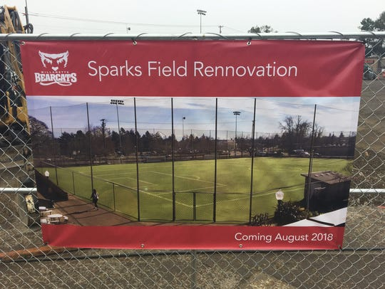 Renovation of Sparks Field on the campus of Willamette