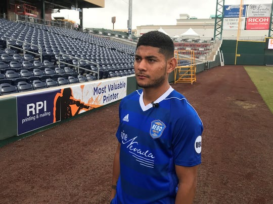 Reno 1868 FC midfielder Kevin Partida was signed by the San Jose Earthquakes.