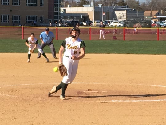 Maggie Swan went 22-3 with a 1.01 ERA for the Group IV champs, adding a .446 batting average