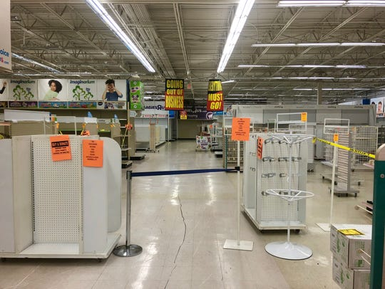 As inventory dwindles at Toys R Us stores, including