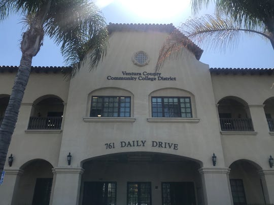 Ventura County Community College District headquarters in Camarillo.