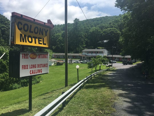 The Colony House Motel at 494 Three Notched Mountain