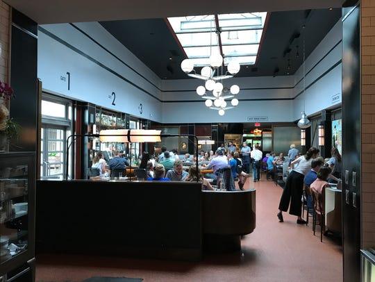 The Grey restaurant in Savannah is inside a 1938 art