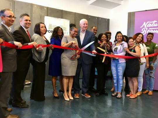 Pop-Up MKE had a ribbon cutting ceremony Wednesday to celebrate the opening of three new pop-up shops.