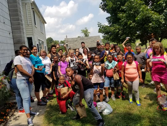 About 50 York City students attended S.A.F.E. Camp
