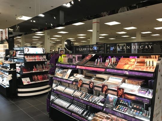 The new Sephora inside JCPenney in the Lansing Mall,