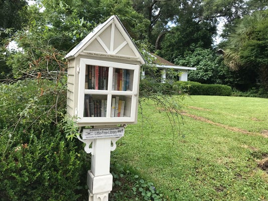 Pensacola's Free Little Libraries
