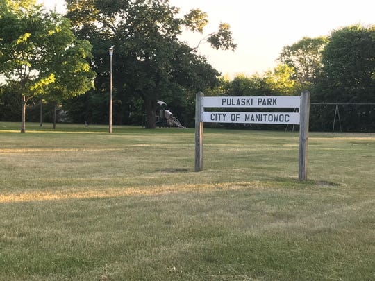 Pulaski Park on Columbus Street in Manitowoc may become the home to a third dog park in Manitowoc. Mayor Justin Nickels said the project would include separate areas for large and small dogs and stations to dispose of dog waste during a listening session Wednesday.