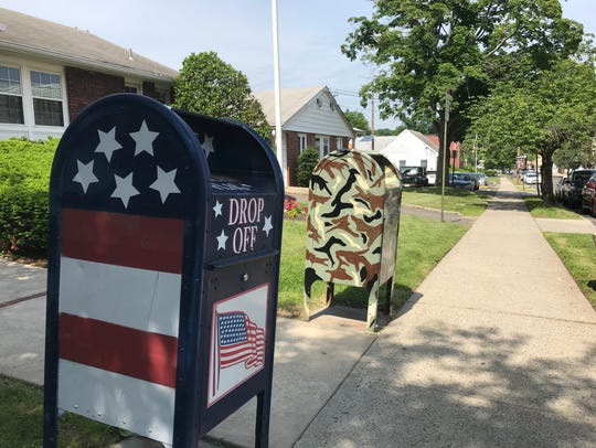 Flag and letter drop offs are available outside Nutley