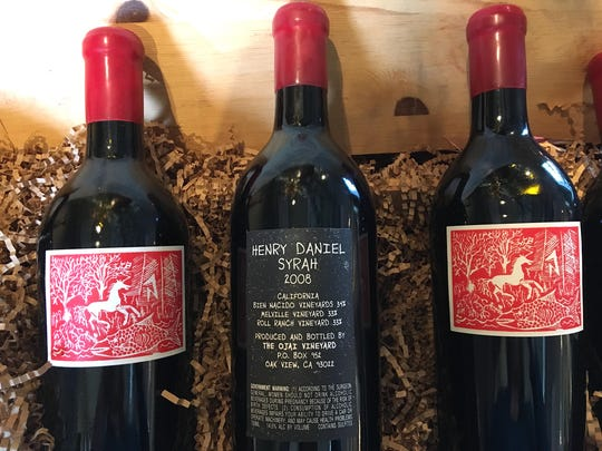 New releases in The Ojai Vineyard tasting room include