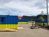 Redline BBQ is BC Cargo's latest shipping container store