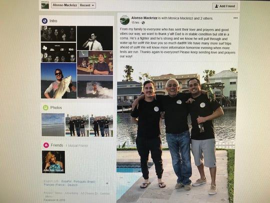 Luis Mackrizz, a Corpus Christi doctor, was identified