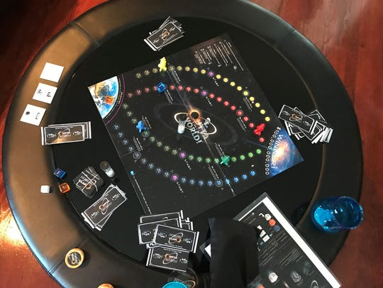 The 'Outta This World!' board game won the brother-sister