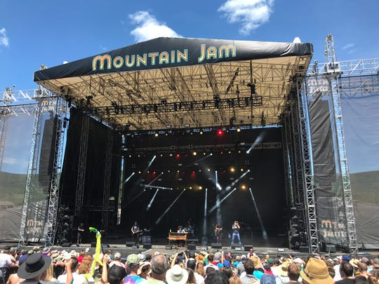 Andy Frasco and The U.N. performs Saturday at the Mountain Jam festival at Hunter Mountain in Greene County.