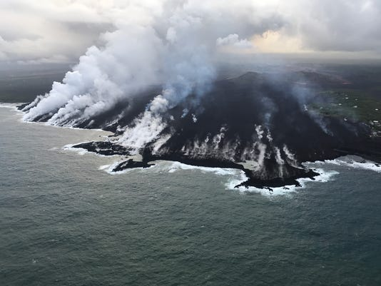 EPA USA HAWAII KILAUEA VOLCANO DIS VOLCANIC ERUPTION USA