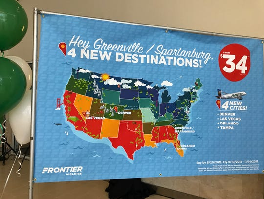 Frontier Airlines will offer flights on Wednesdays