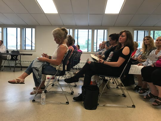 Over 50 residents attended the Highlands Land Use Board
