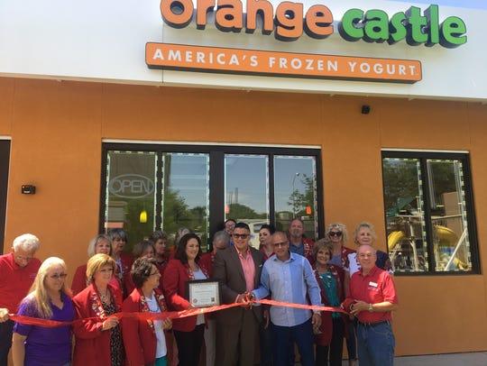 Orange Castle Frozen Yogurt opened at 219 E. Main St.