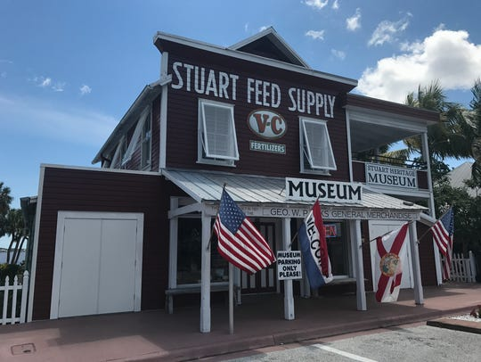 The Stuart Heritage Museum at 161 S.W. Flagler Ave.