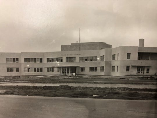 The Tulare Hospital has been at its current location