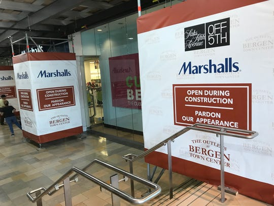 A Burlington store will open above the current Marshalls