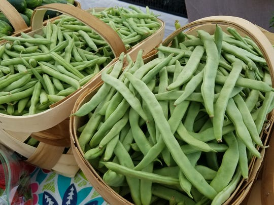 Fresh local beans are now available at Asheville area tailgate markets.
