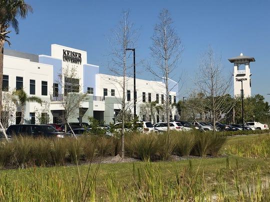 Keiser University has a campus in the Tradition Jobs Corridor