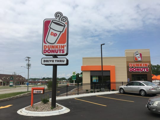 Dunkin Donuts opened a new location, its third in the