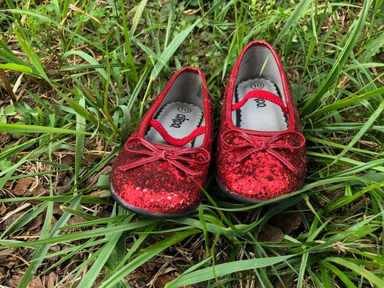 The ruby slippers remind us that there's no place like