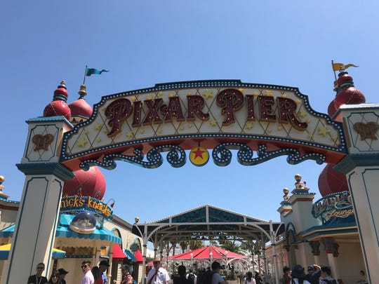 Disneyland unveils the Pixar Pier in California Adventures on June 21, 2018, in Anaheim, Calif.