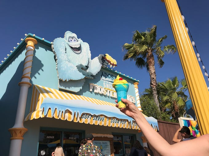 The Pixar Pier Frozen Parfait is a can't-miss treat