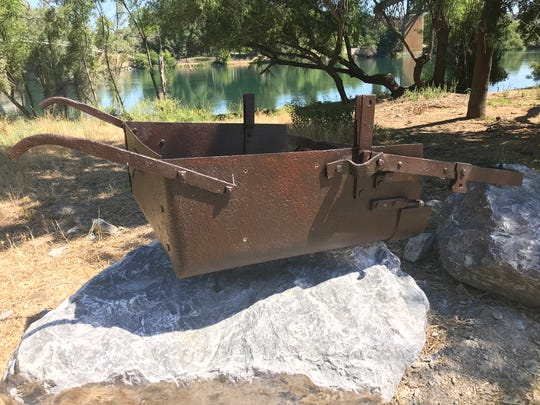 This Fresno plow was to be part of a memorial commemorating