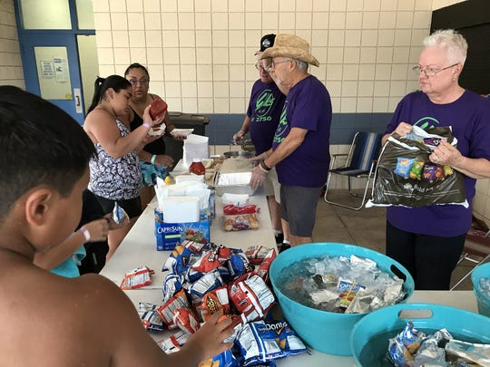 Deming Elks Lodge held a Summer Splash event from 5-9