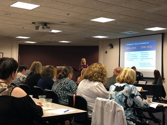 Fond du Lac County Health Department officials present new priorities in a Wednesday meeting.