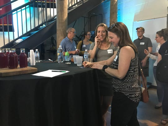 Audience members voted for their favorite business idea at Hatch June 20 in Wisconsin Rapids.