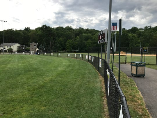 A view of the fields at Memorial Field in Wanaque.