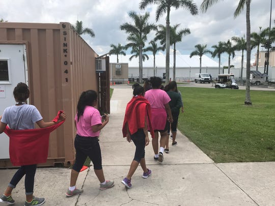 Half of unaccompanied minors left Homestead facility but U.S. officials won't say where they went, Pocan says