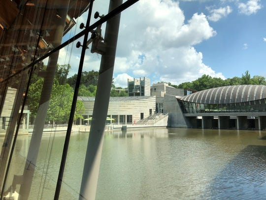 Crystal Bridges Museum of American Art is the crown