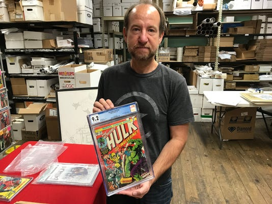 Comic collector beef's up collection with