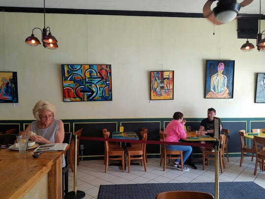 MaryScott's Kitchen is one more place to find art in